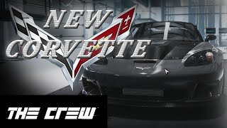 the crew #3 - New CORVETTE (logitech g27 cam)