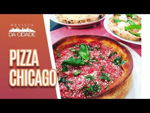 Faça e Venda: Pizza Chicago  - Revista da Cidade (10/07/18)