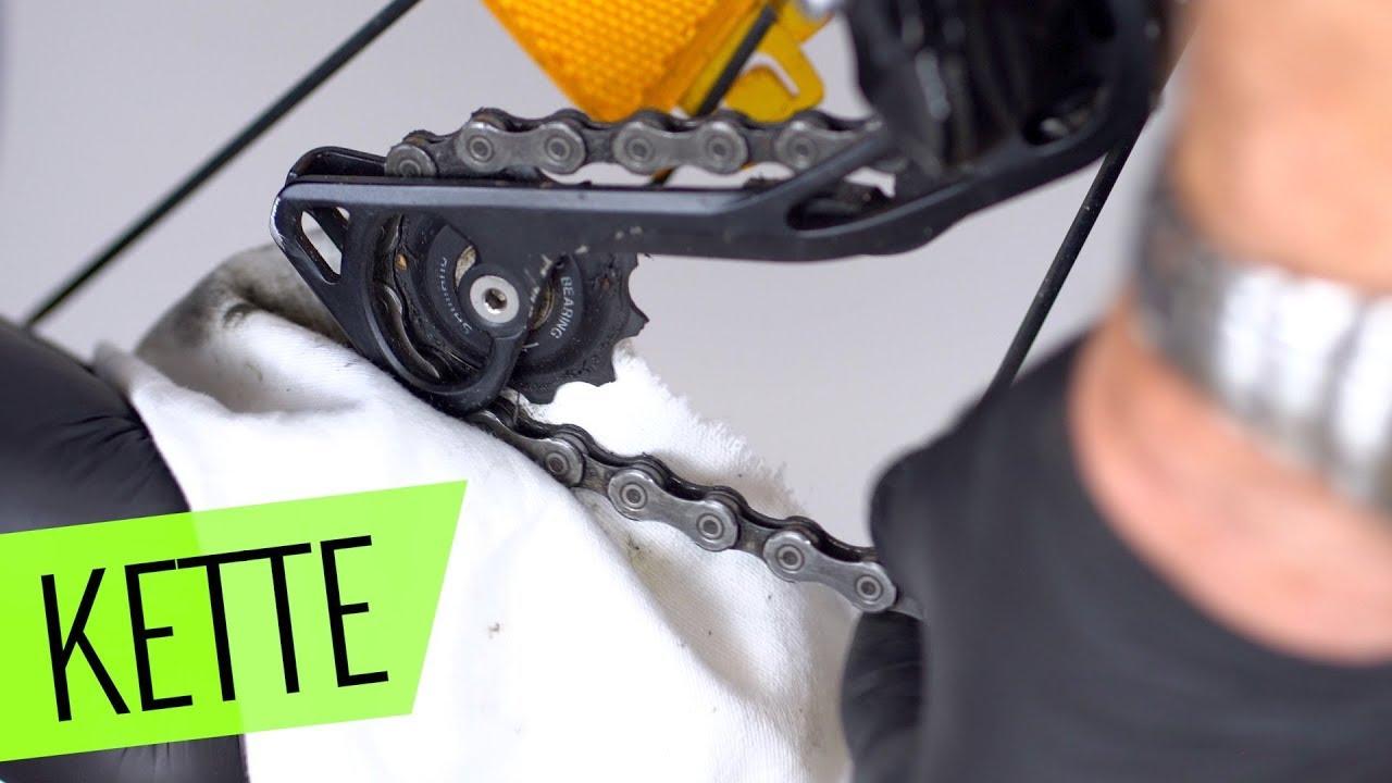 Fahrrad Kette Reinigen : fahrrad kette richtig reinigen und fehler vermeiden einfach schnell youtube ~ Watch28wear.com Haus und Dekorationen