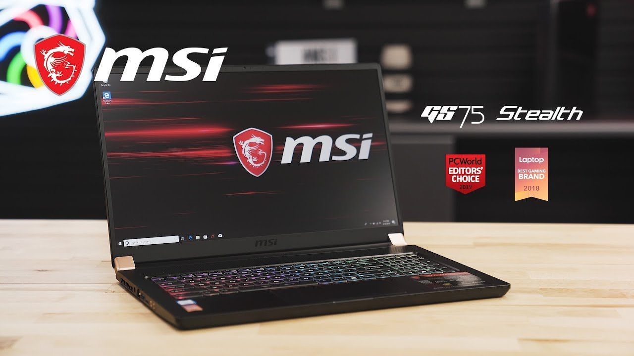 GS75 STEALTH Unboxing – For Gamers on the Go | MSI