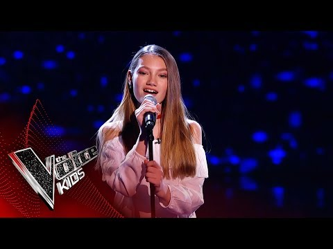 Lucy Performs 'Memory' | Blind Auditions | The Voice Kids UK 2019