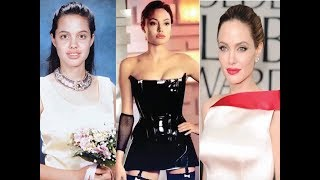 Angelina Jolie Transformation  From 1 To 42 Years Old
