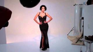 Dylan Ryder Photo Shoot - Sexy Gown