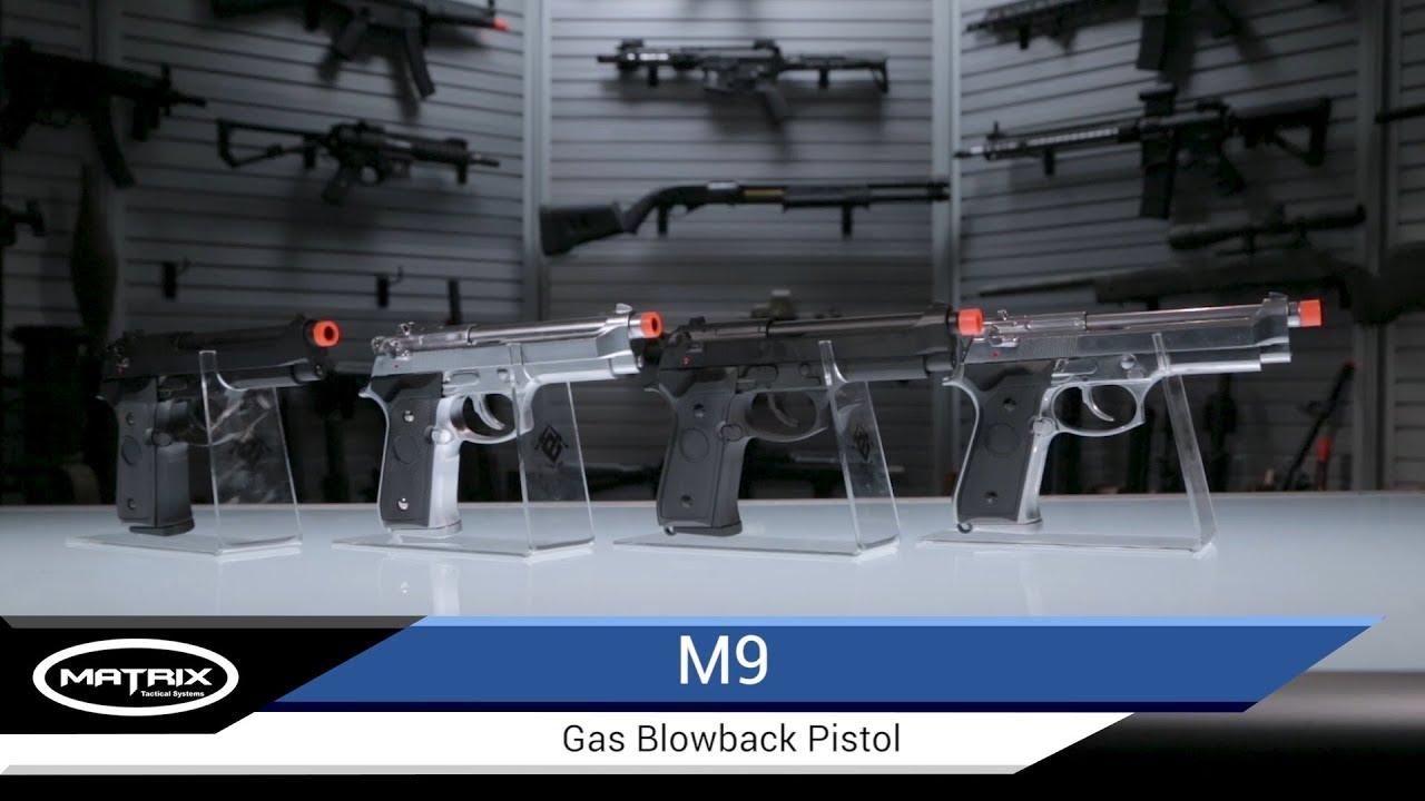Evike Matrix Elite M9 GBB Pistol - Airsoft Evike com