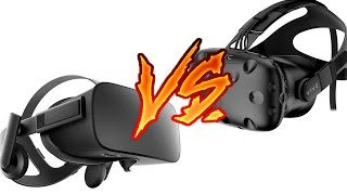 HTC Vive VS Oculus Rift - сравнение шлемов виртуальной реальности