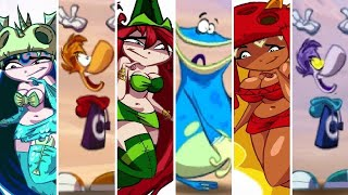 Rayman Origins - All Nymphs & Playable Characters