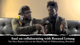 """The Pace Report: """"A Chorus of Sunlight"""" The Saul Williams Interview"""