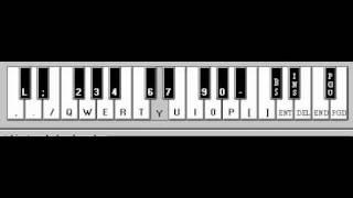 (Samurai X) Departure - Piano Electronico 2.5