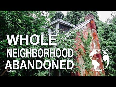 Abandoned Neighborhood (WHY DID EVERYONE LEAVE?)