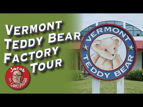 Vermont Teddy Bear Factory Tour
