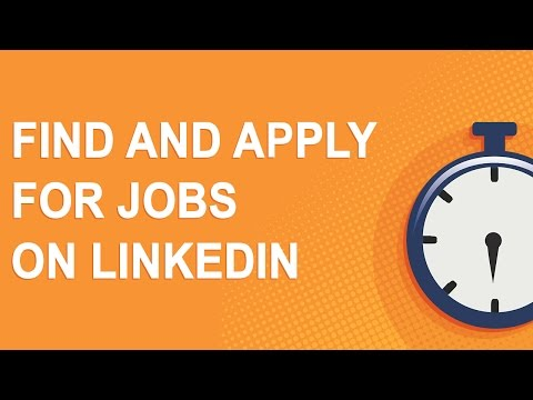 Find and apply for jobs on LinkedIn (NO ADS!)