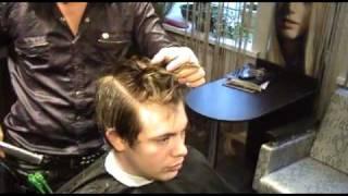видео мужские стрижки киев
