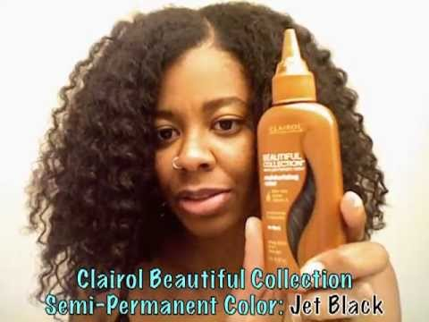 Black Rinse On Natural Hair  YouTube