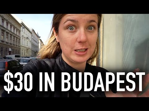 WHAT CAN $30 GET YOU IN BUDAPEST?? | Budapest On A Budget Tr
