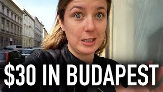 WHAT CAN $30 GET YOU IN BUDAPEST?? | Budapest On A Budget Travel Guide