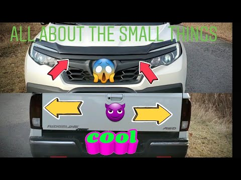 "2019 HONDA RIDGELINE ""MOD""  UPDATE *all About The Little Things"
