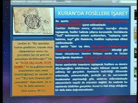HARUN YAHYA TV - KURAN MUCİZELERİ; KURANDA FOSİLLERE İŞARET.mp4