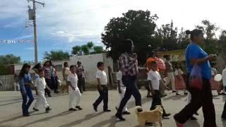 desfile en el ejido ignacio zaragoza municipio de viezca coahuila