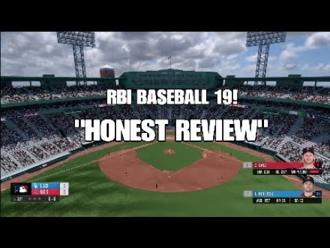"RBI BASEBALL 19 - ""HONEST REVIEW"" PROS VS CONS! #RBIGAME"