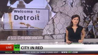 Detroit Deep in Debt: City filed for bankruptcy, but
