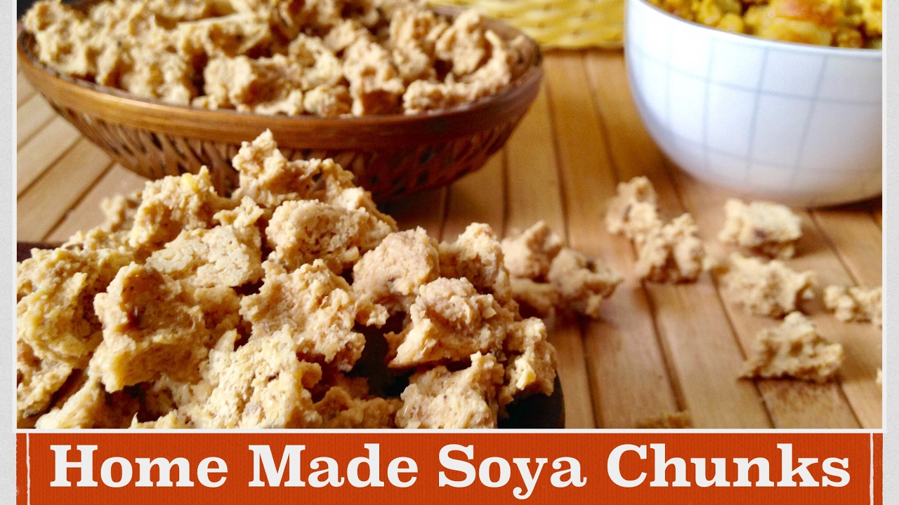 Home Made Soya Chunks Recipe   How to make Healthy Soya Chunk/Nuggets/Badi  at Home   Recipe in Hindi