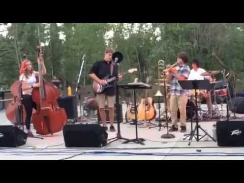 Jazz Cider (song 2) at Truckee's Summer Concert in the Park 2015