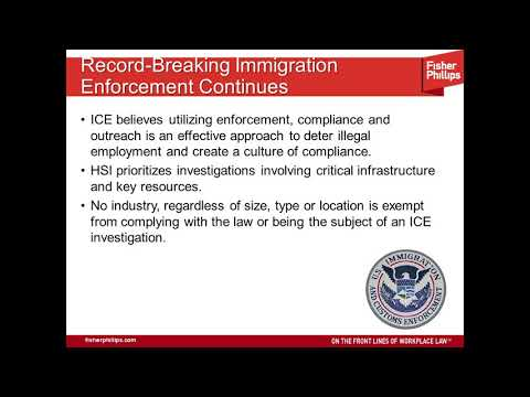 The New ICE Age? Surviving Immigration and Customs Enforcement Investigations
