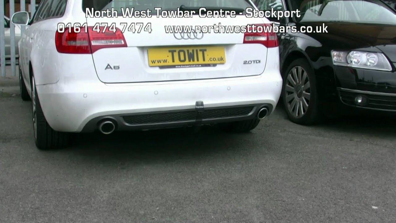 Audi A4 B8 Towbar Wiring Diagram A6 Mmi Video Westfalia Youtube