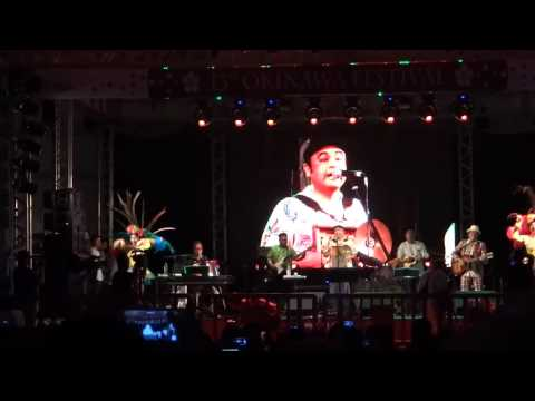 BeginAsadoyá Yunta安里屋ユンタ13º Okinawa Festival08/11/2015Parte 8