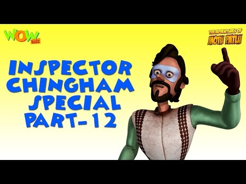 Inspector Chingam Special - Part 12 - Motu Patlu Compilation As seen on Nickelodeon thumbnail