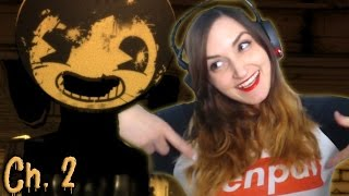 Bendy Just Wants Senpai to Notice Him!! | Bendy and the Ink Machine: Chapter 2
