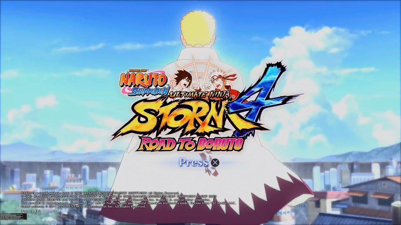 Naruto Shippuden Ultimate Ninja Storm 4 Ps5 Gameplay Youtube