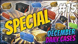 NEW YEAR SPECIAL AND A P90 EBOLA w/ MY SISTER ★ DECEMBER DAILY CASES DAY 15 - CS:GO CASE OPENING