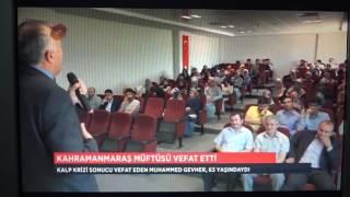TRT Dİyanet Tv Habarde bu akşam....Müftü Gevher Vefat Etti