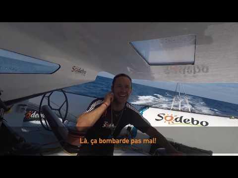 En direct de Sodebo Ultim' - J+5 sur la Transat Jacques Vabre