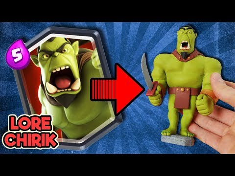 Making Orc Warrior From Clash Royale Alternative - Castle Crush