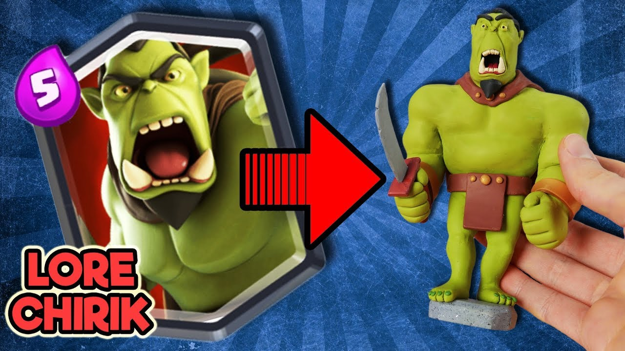 Creating Orc Warrior from Clash Royale Alternative - Castle Crush