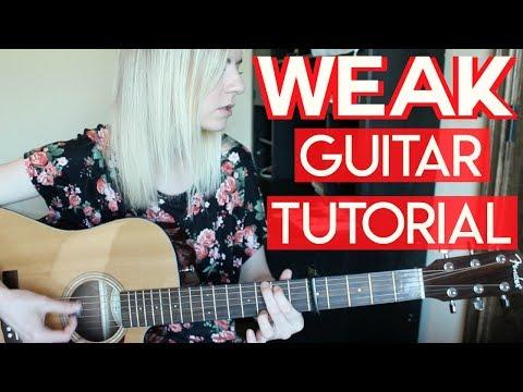 Weak - AJR | EASY GUITAR TUTORIAL