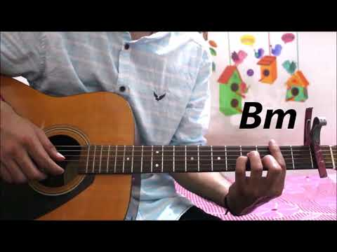 Humnava Mere - Jubin Nautiyal - Guitar cover lesson chords tutorial easy version