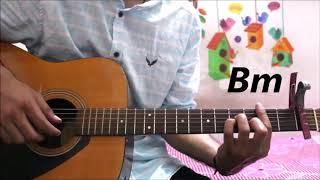 Humnava Mere Jubin Nautiyal - Guitar cover lesson chords tutorial easy version.mp3