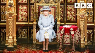 The Queen's Speech begins 👑 The State Opening of Parliament 2021 🇬🇧 BBC