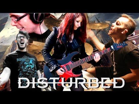DISTURBED - The Light [FULL BAND COVER] by Jassy J, WhiteSlash, LightningJoker & metaldrummer47