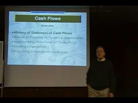 Chap 17 Lecture: Statement of Cash Flows