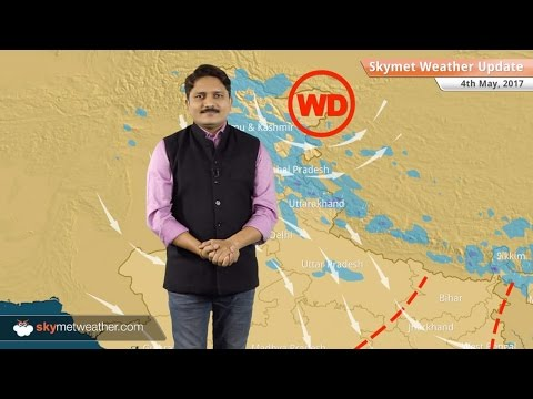 Weather Forecast for May 4: Rain in Jammu and Kashmir; dust storm in Haryana, Punjab