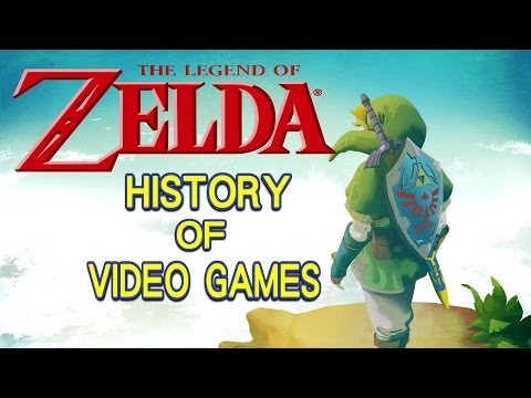 History of The Legend of Zelda ゼルダの伝説 (1986-2017) - Video Game History