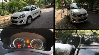 My Swift Car Reality Is Here | Removed Tyre Pressure Monitor | My Car's Average | My Rajasthan Trip