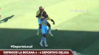 Copa Perú: Defensor La Bocana 5 - 3 Deportivo Delusa / Etapa Nacional – Deporte Local 2015