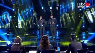 Arab Idol -الحلقات المباشرة-وليد الجيلاني وماجد المدني- الهاشمي وسمارة