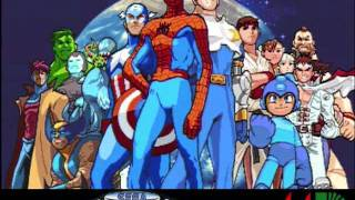 Marvel vs Capcom - Captain America