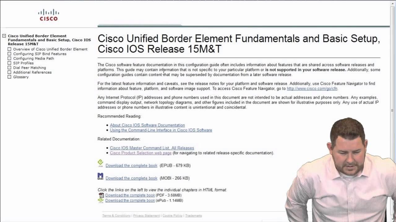 CCIE Collaboration :: Basic CUBE Setup - YouTube